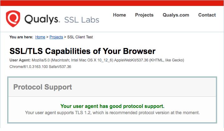 Transport Layer Security - TLS – Mavenlink Support