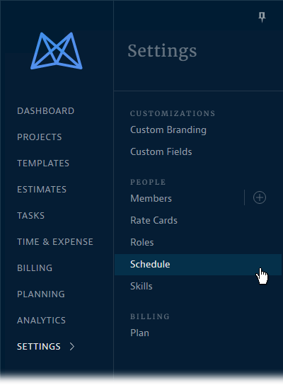 Settings-Schedule-Left-Side-Nav-Bar.png