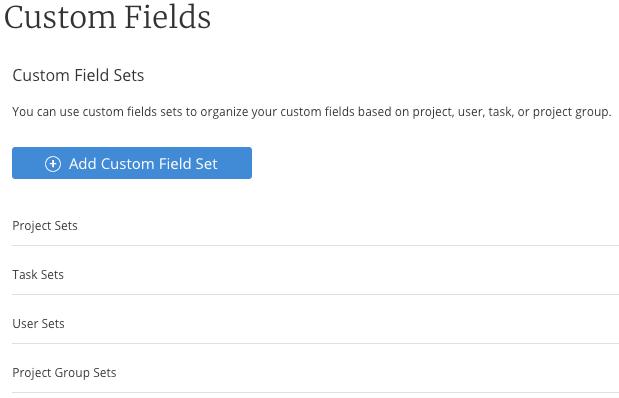 Custom Fields Overview – Mavenlink Support
