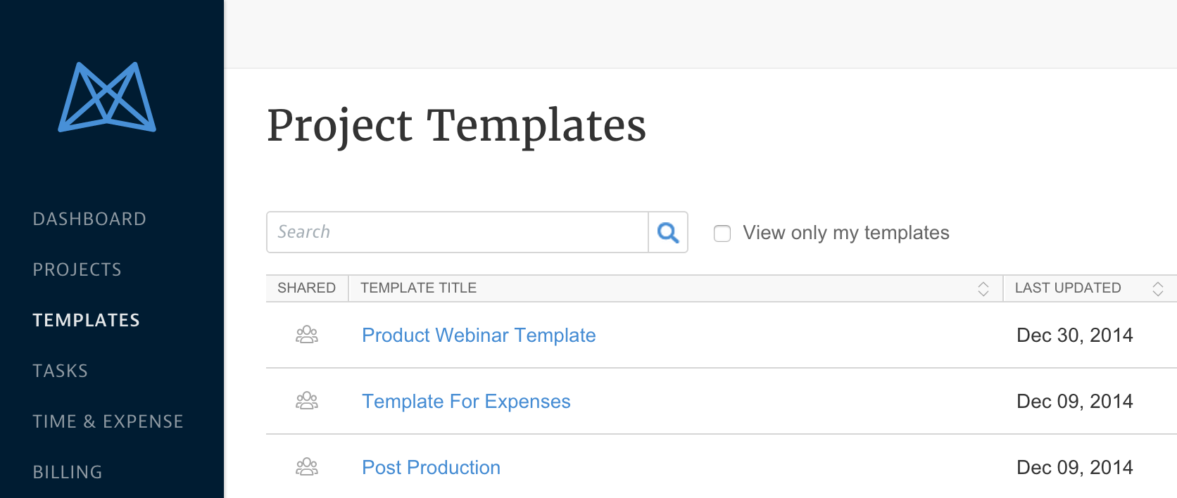Project Templates Overview  Job Task Template
